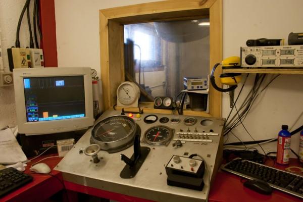 Dyno control room