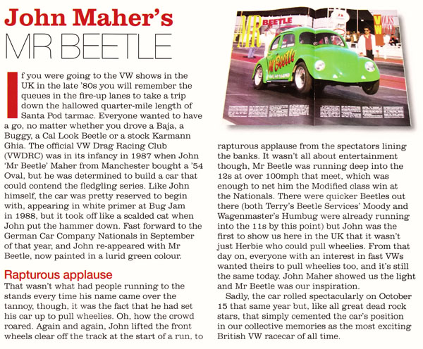 John Maher's Mr Beetle